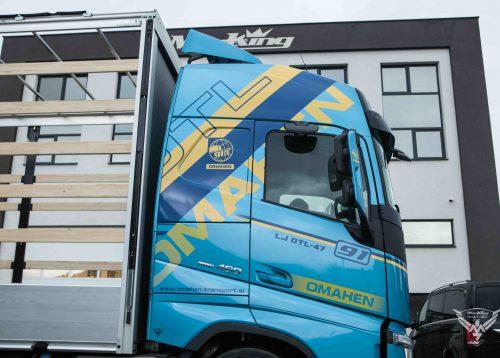 Novi Volvo Omahen Transporta